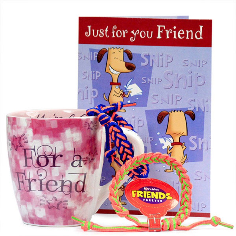 Friendship Bands n Mug Hamper
