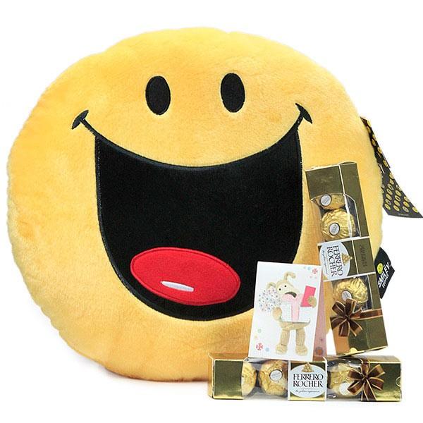 Keep Smiling Chocolaty Hamper