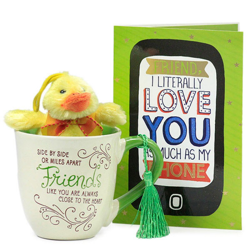 Friendship Mug n Duck Soft Toy