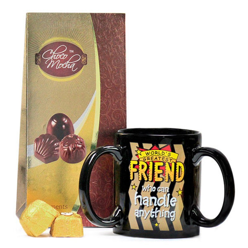 Chocolates n Mug for World's Greatest Friend