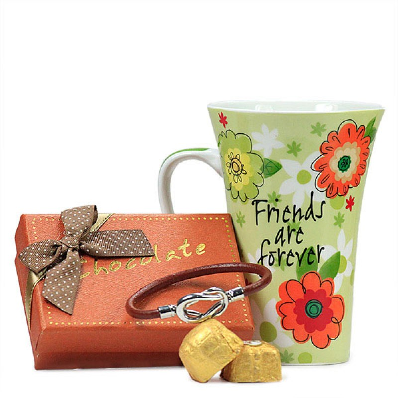 Friends Forever Mug n Chocolates Hamper
