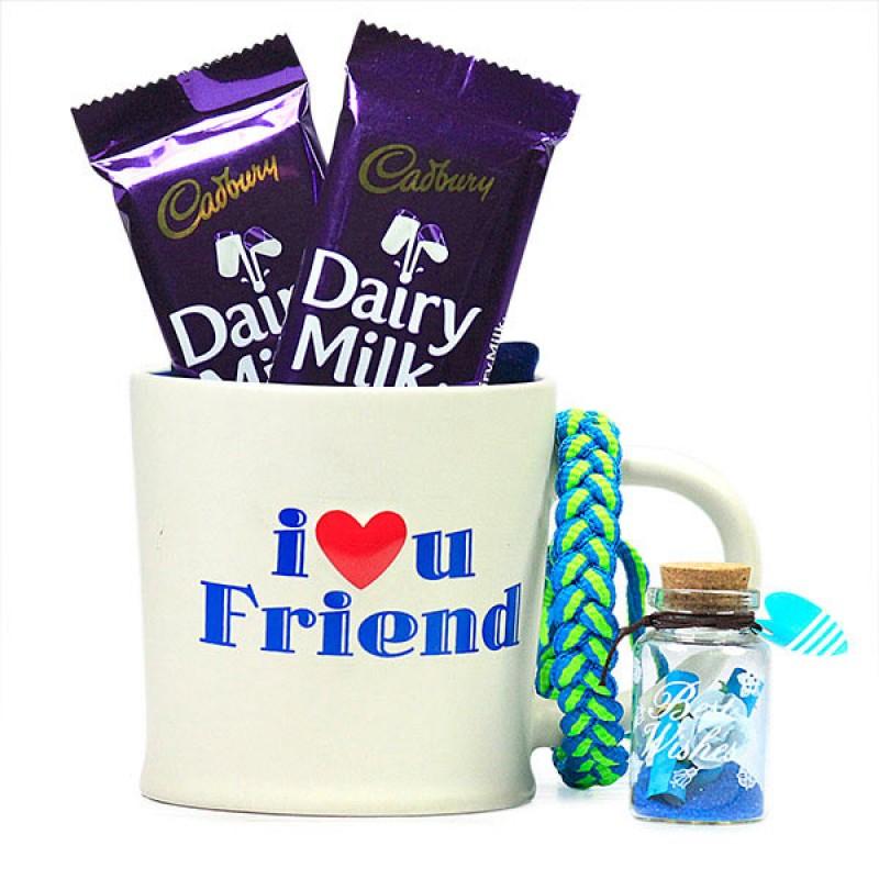Love You Friend Chocolaty Hamper