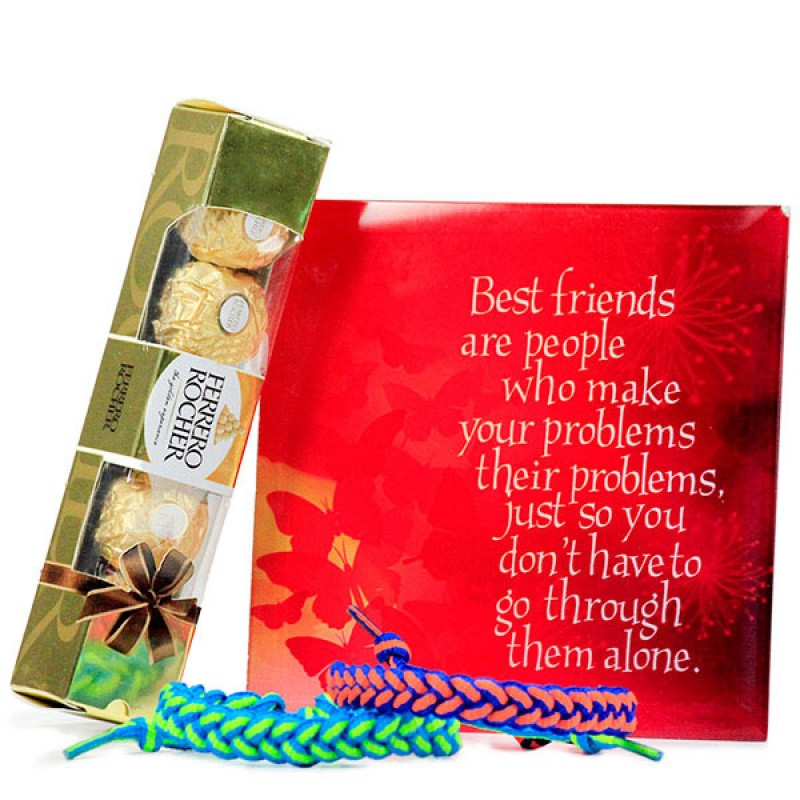 Ferrero Rocher n Friendship Bands Hamper