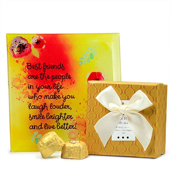 Best Friends Quotation n Chocolate Box Hamper