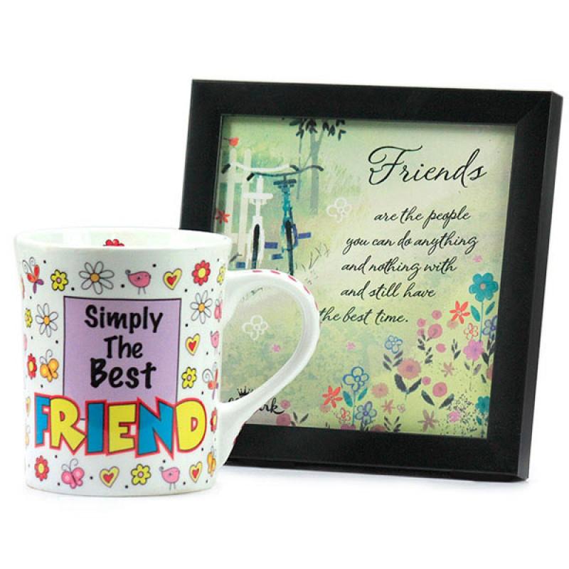 Best Friend Mug n Desk Quotation Hamper