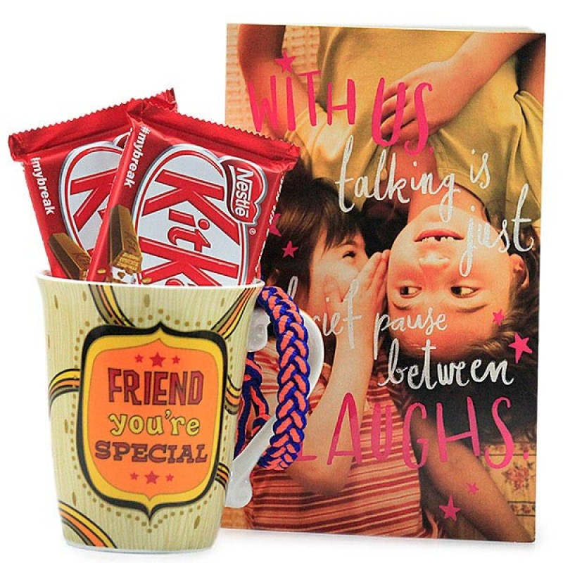 Friendship Mug n Chocolates Hamper