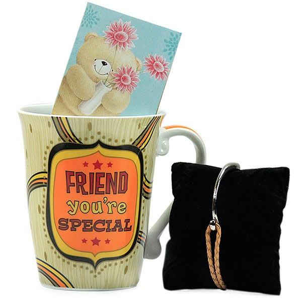 Friendship Band n Trendy Mug Hamper