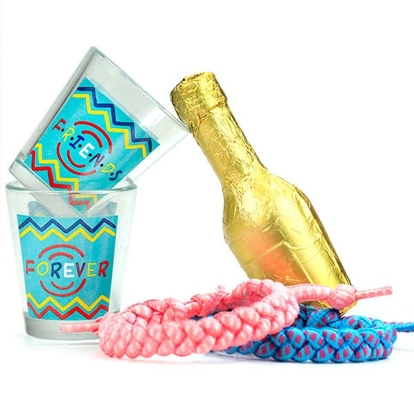 Friendship Bands n Shot Glasses Hamper