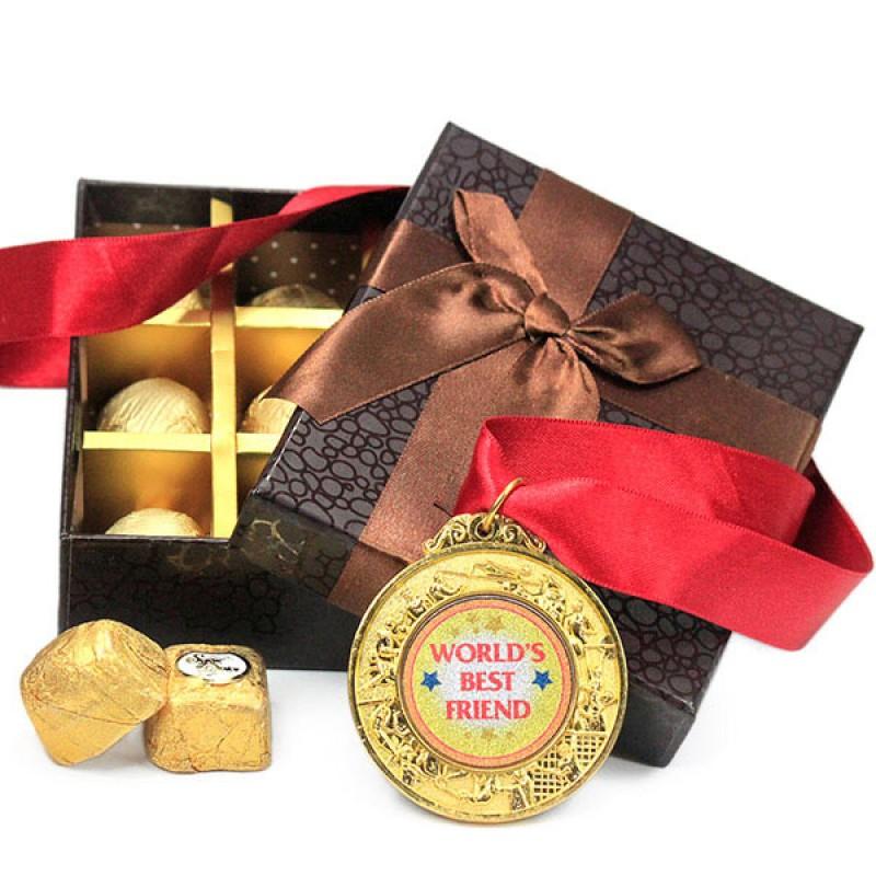 Chocolaty Hamper for My Bestie