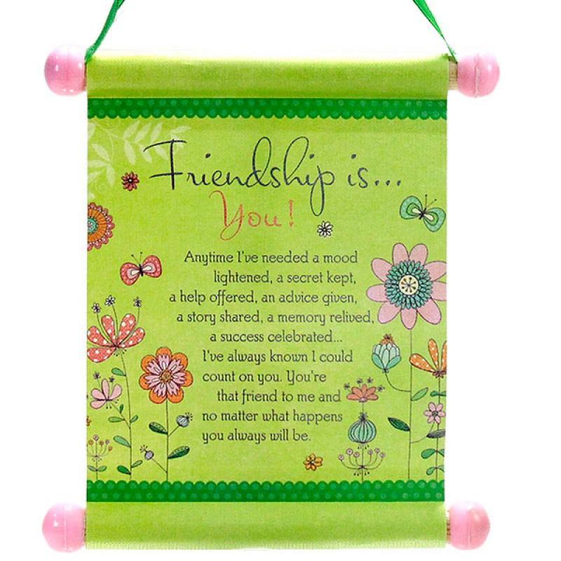 Set of 4 Friendship Scrolls