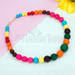 Multi Coloured Necklace