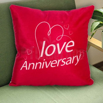 Anniversary Printed Cushion
