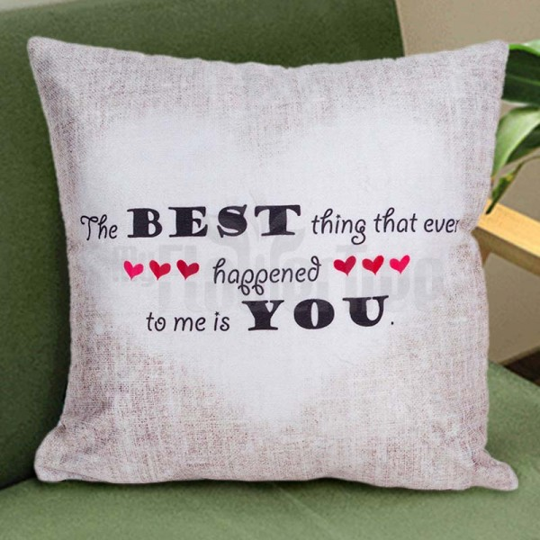 Printed Quote Cushion
