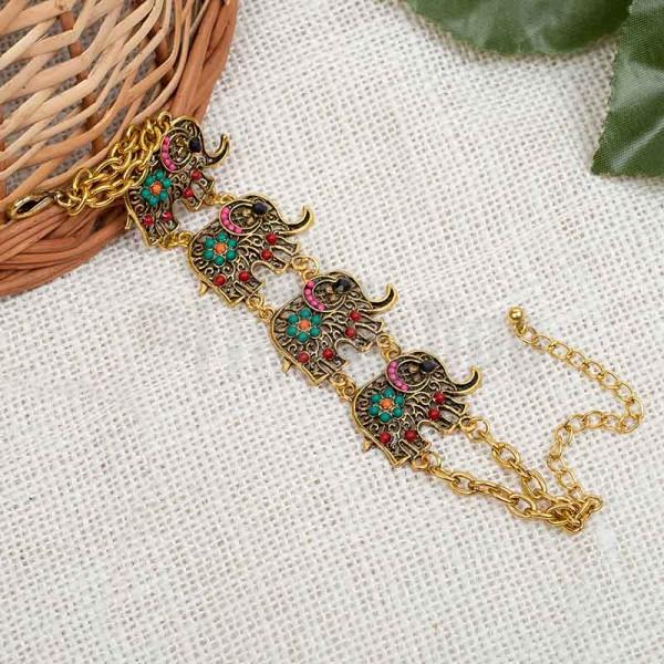 Designer Elephant Bracelet