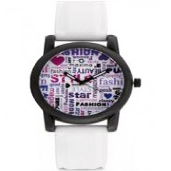 Maxima White Watch