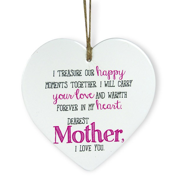 Love You Mommy Heart Quotation