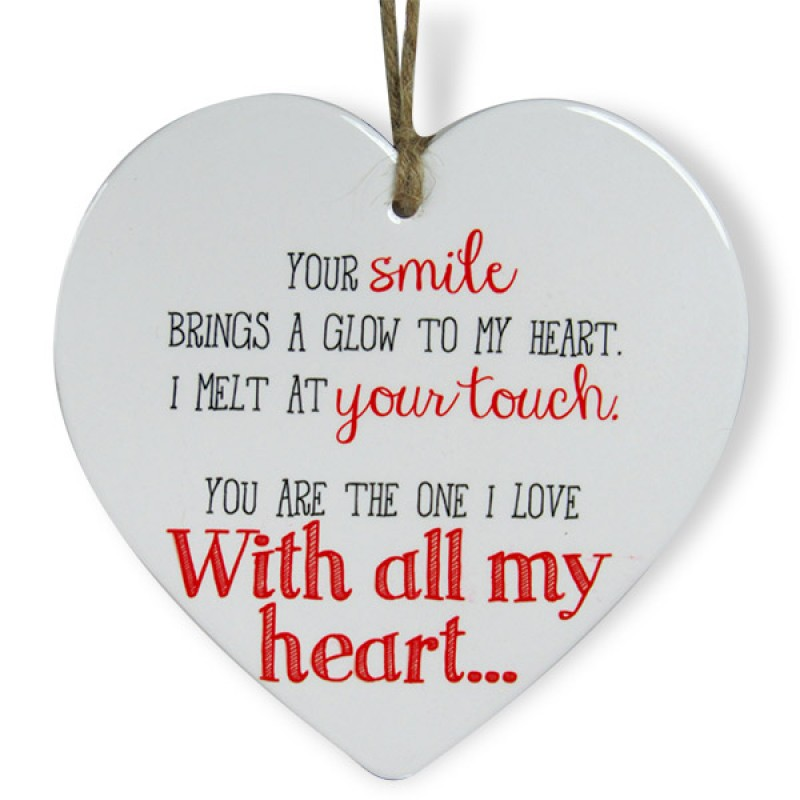Love You A Lot Heart Quotation