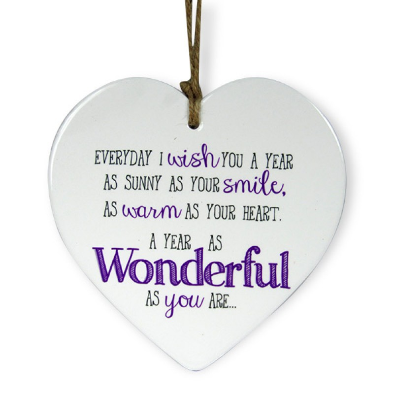 You Are Wonderful Heart Quotation
