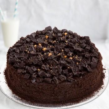 Half Kg Chocolate Round Cake