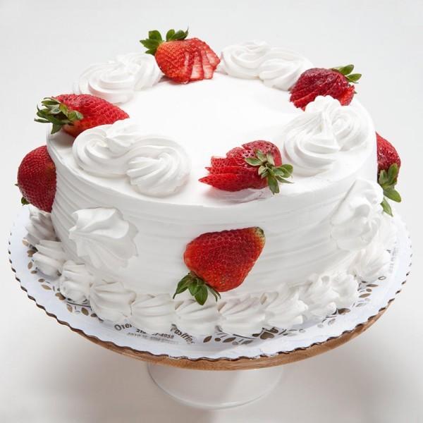 Half Kg Eggless Vanilla Cake