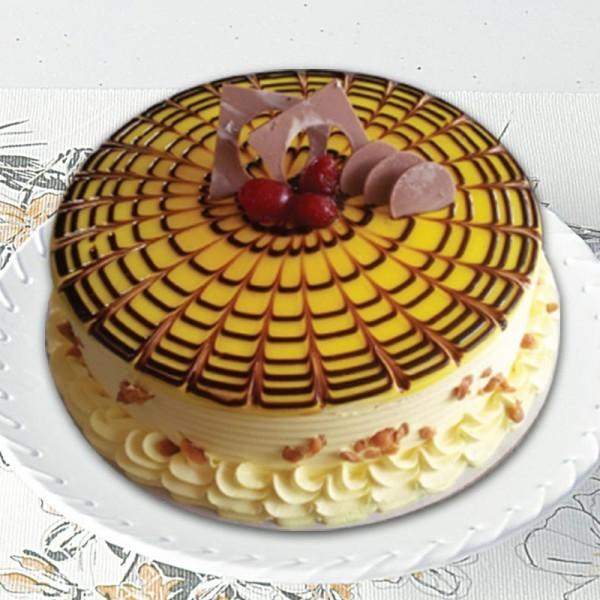 Half Kg Butterscotch Sugarfree Cake