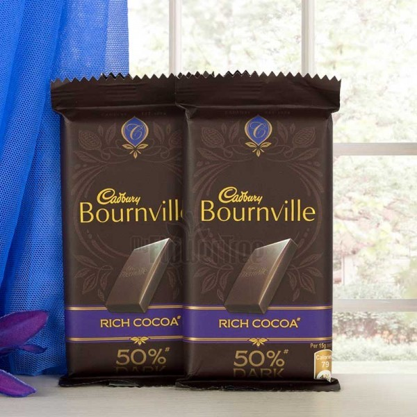 Pack of 2 Cadbury Bournville Chocolate