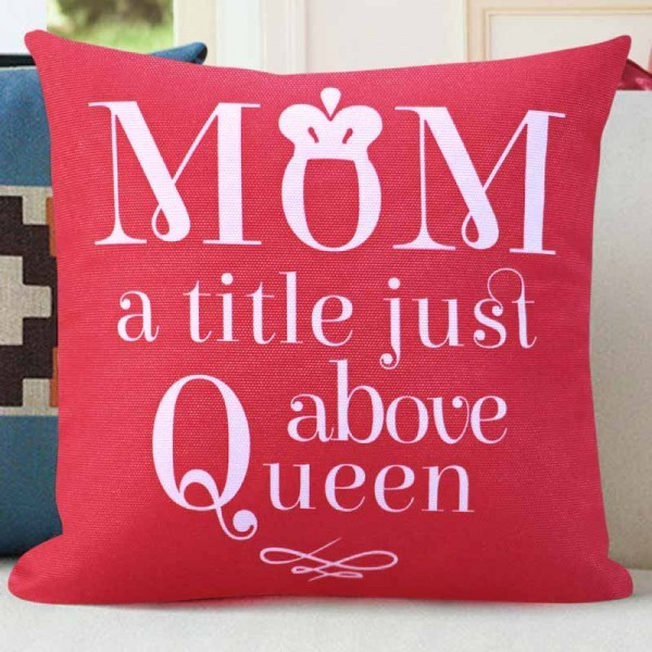 Printed Cushion for Mother