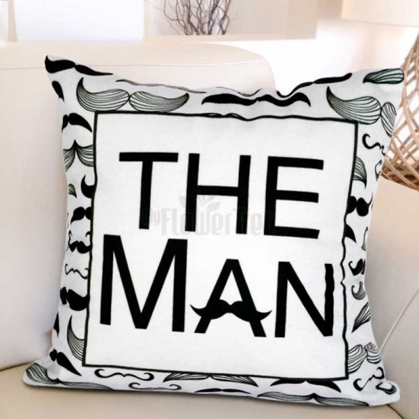 The Man Printed Cushion