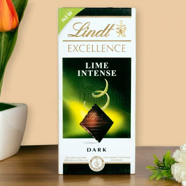 One Lime Lindt Chocolate 100 gm