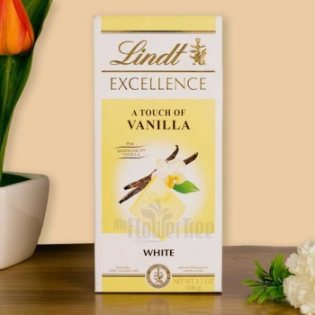 One Vanilla Lindt Chocolate 100 gm