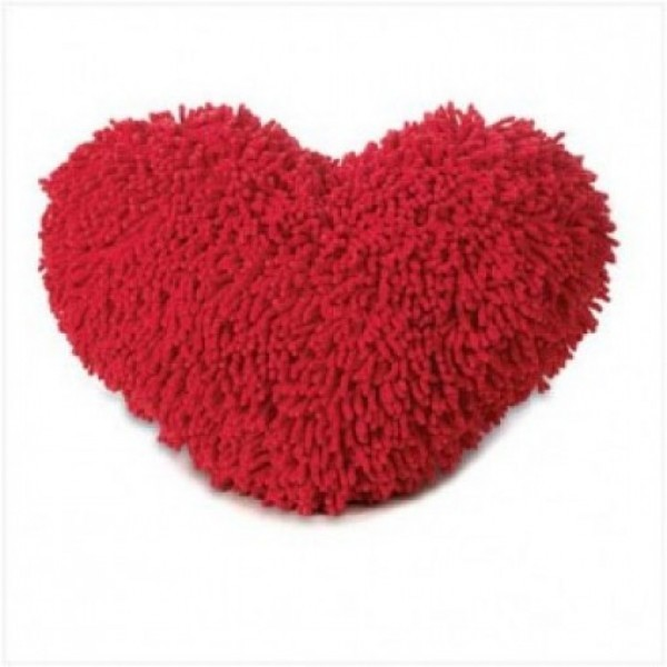 Heart Shape Soft Pillow