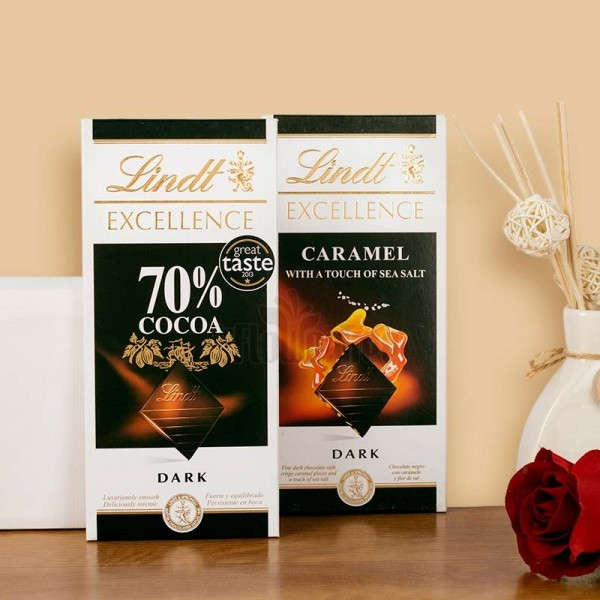Pack of 2 Lint Chocolates