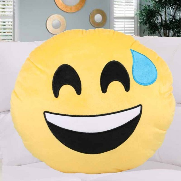 Emoji Face Cushion