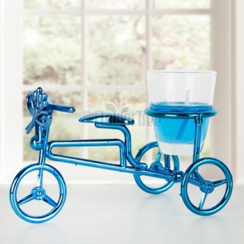 Blue Color Cycle Stand