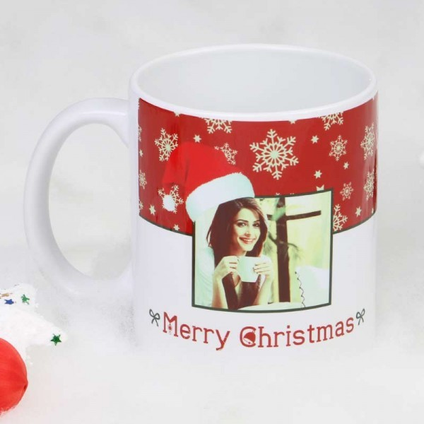 Personalised Photo Mug for Christmas