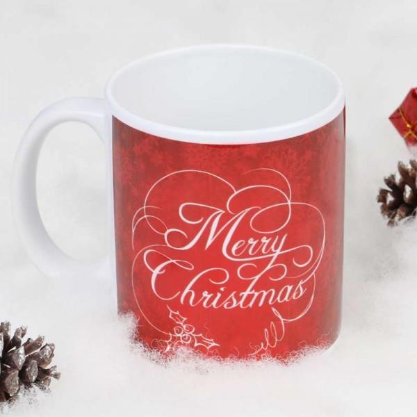 Merry Christmas Printed Mug