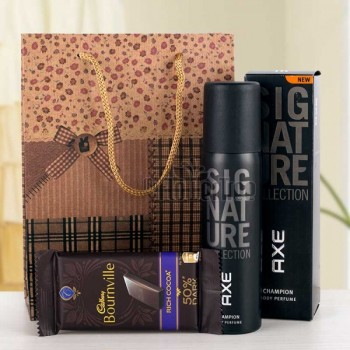 Axe Signature Perfume with Bournville Chocolate