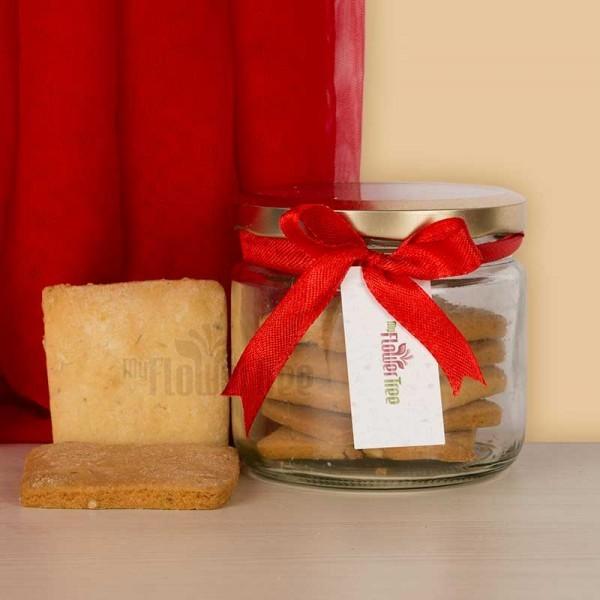 Jar of Almond Butter Cookies