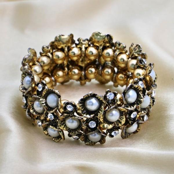 Designer Golden Bracelet