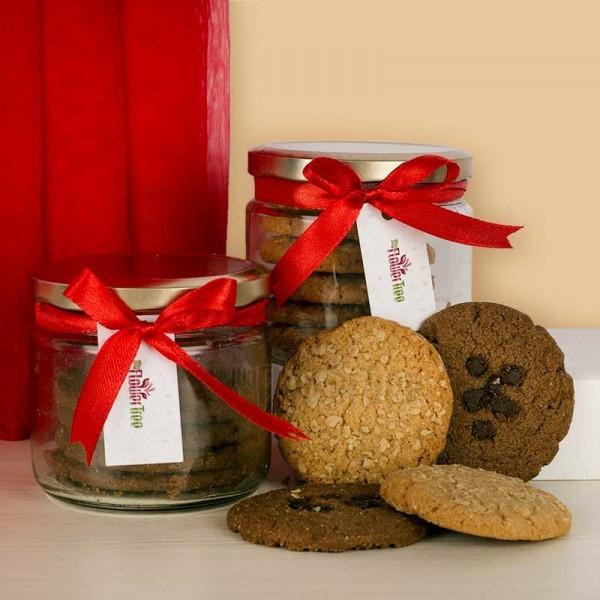 Jar of Mixed Cookies