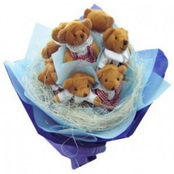Bouquet of Teddies