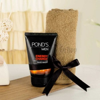 Ponds Facewash with Jute Loofa