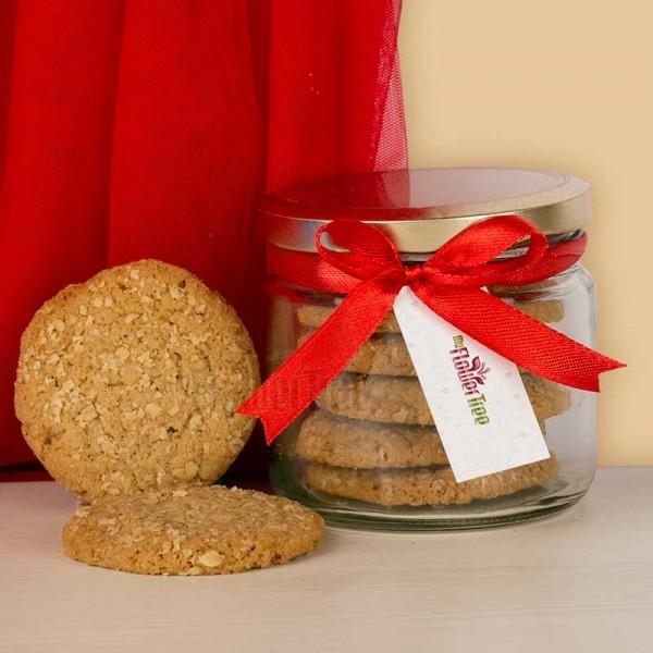Jar of Oat Cookies
