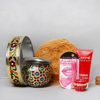 Traditional Karwa Chauth Thali Gifts for Wife