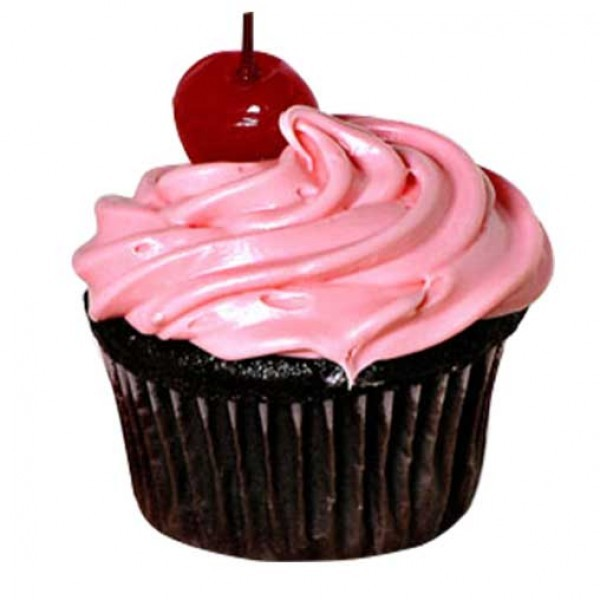 Chocolate Cherry Cupcakes 4 pcs