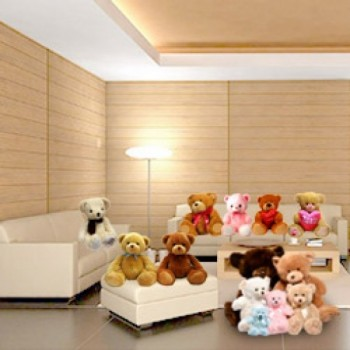 Room Full of Teddies including 1 Teddy (18 Inches) 4 Teddies (12 Inches) 10 Teddies (6 Inches)