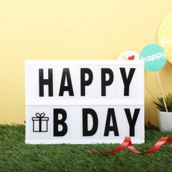 Happy Birthday Light Board
