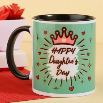 Happy Daughters Day Printed Coffee Mug