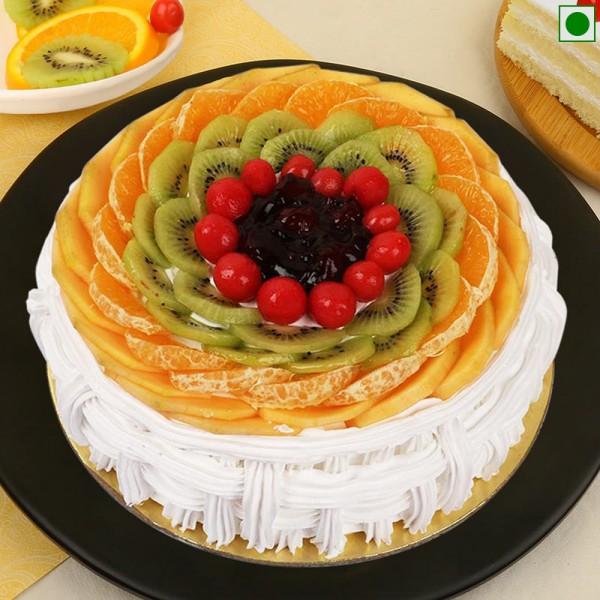 One Kg 1 Kg Eggless Fruit Cake