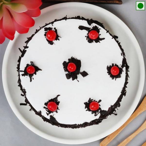 Eggless Black Forest Cake Half Kg